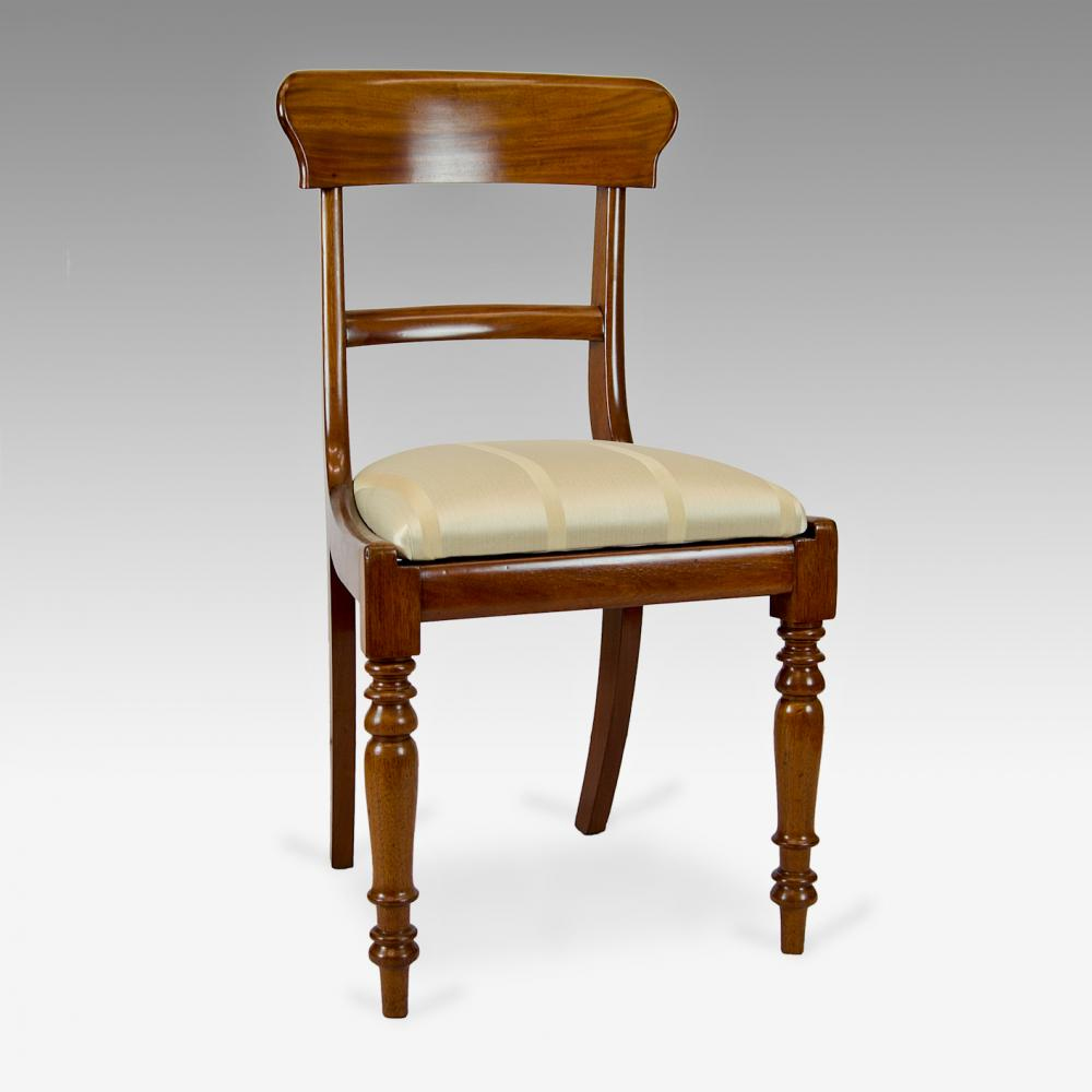 Pair of mahogany Victorian dining chairs  : 14416 pair of dining chairs from littlemeadowsagility.co.uk size 1000 x 1000 jpeg 217kB